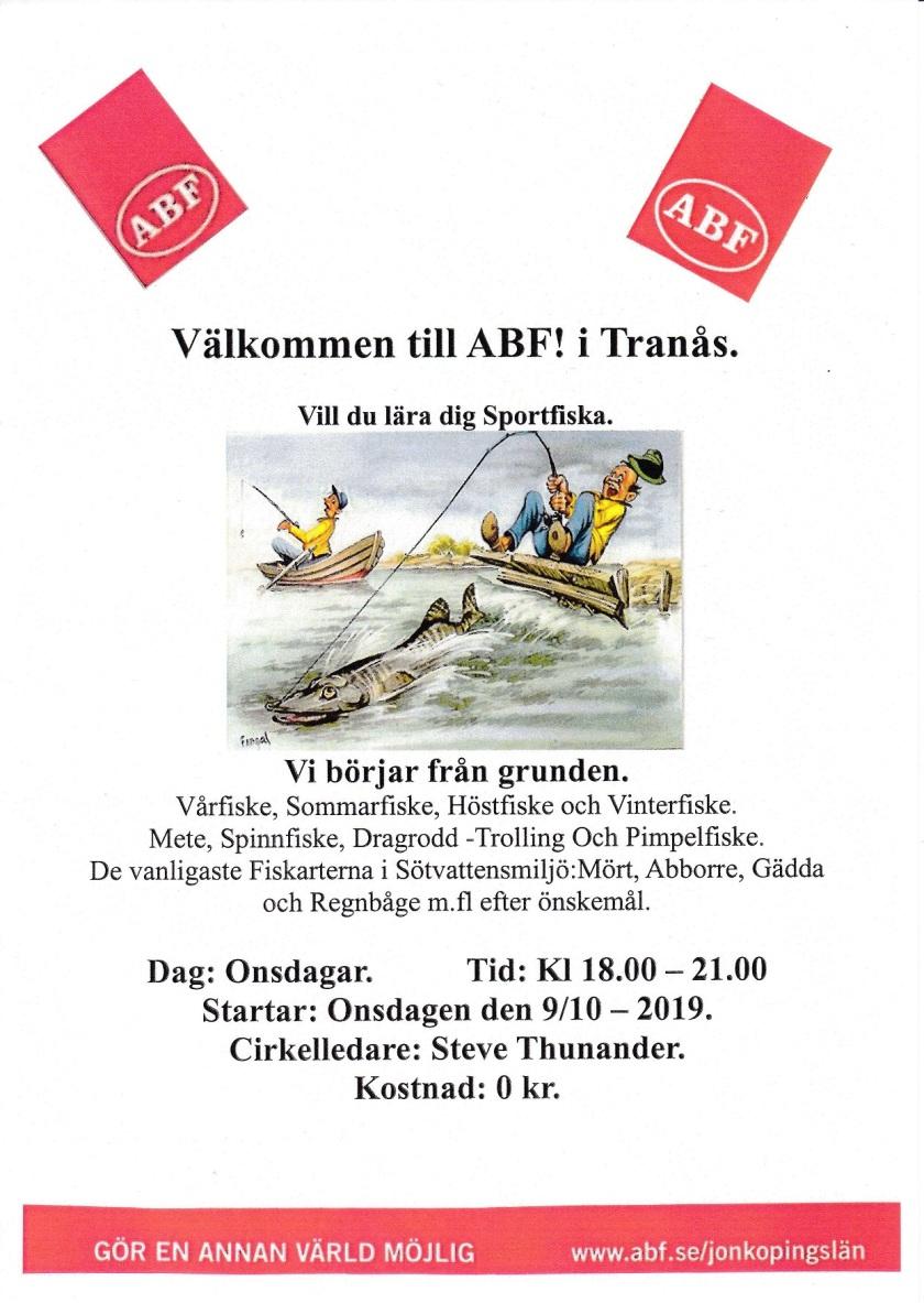 ABF lära sig sportfiska